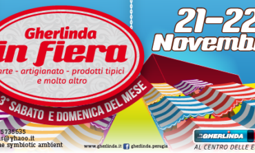 Gherlinda in fiera, sabato 21 e domenica 22 novembre