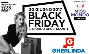 Black Friday: al Gherlinda grandi affari e le ragazze di Miss Mondo Umbria
