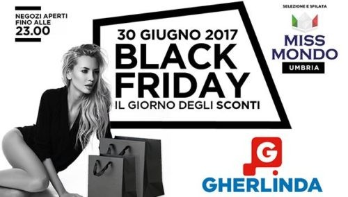 acquisti black friday gherlinda shopping ellera-chiugiana