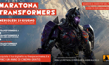 Maratona Transformers al cinema The Space