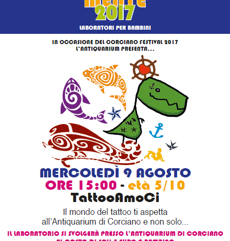 "Al museo dell'Antiquarium ""TatooAmoCi"""