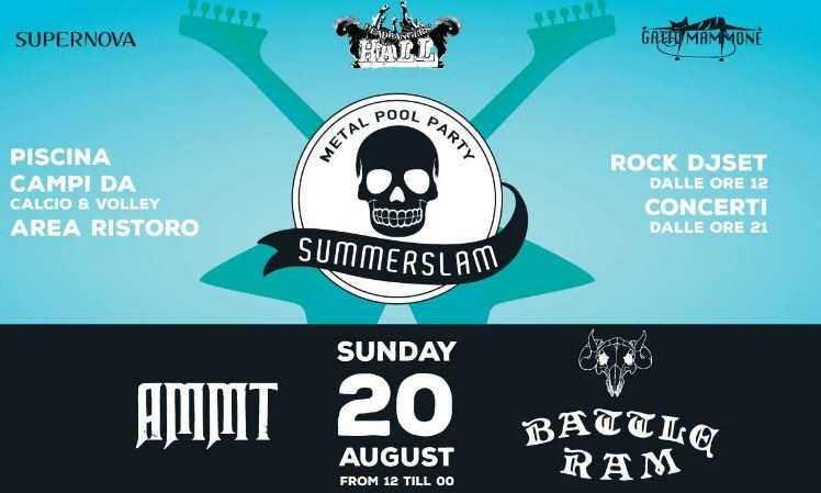 Summerslam, domenica a bordo piscina all'insegna dell'Heavy Metal