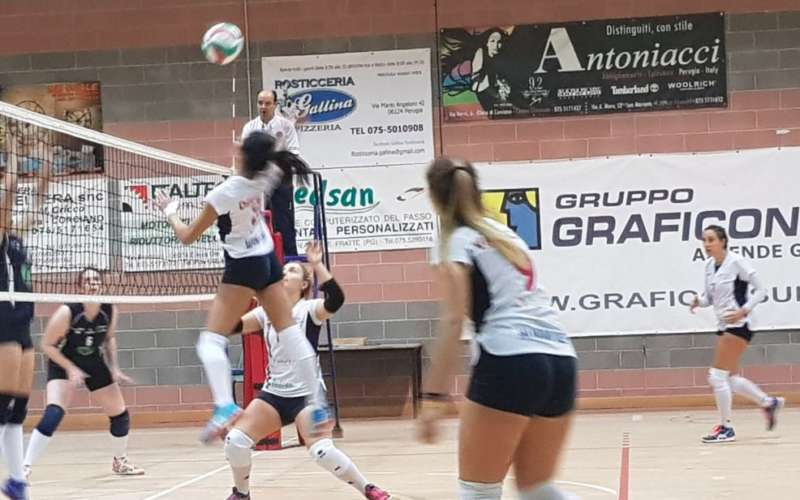 Volley: per la Graficonsul San Mariano battuta d'arresto con Penna in Teverina