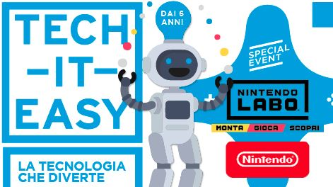 """Tech – It – Easy"": il Post porta al Gherlinda la tecnologia per tutti i bambini"