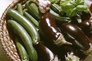 Pesto di zucchine e melanzane alla rucola