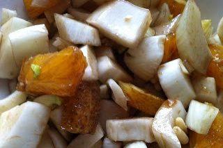Insalata invernale (finocchi arance e pinoli)