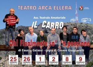 """Risate e buonumore al Teatro Arca con la compagnia """"Il Carro"""" 1"""
