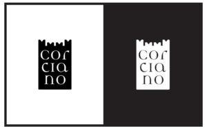 borgo brand campanile idea logo marchio medevale nascita progetto valentina bolognini corciano-centro eventiecultura glocal