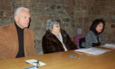 """Marzio Pieroni del Lions Club Corciano alla presentazione del convegno """"Le nuove povertà"""""""