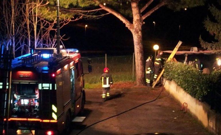 barbecue incendio vigili del fuoco san-mariano
