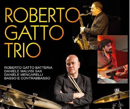 Sabato Roberto Gatto al Ricomincio da Tre Music Club