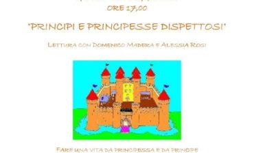 """""""Principi e principesse dispettosi"""" letture per bambini alla biblioteca Rodari"""