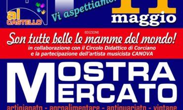 Domenica Mostra Mercato al Castello di Mantignana: prodotti agroalimentari, artigianato, antiquariato e vintage