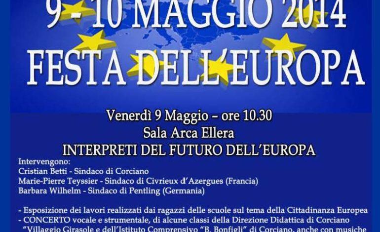 il 9 e 10 maggio a Corciano si festeggia l'Europa