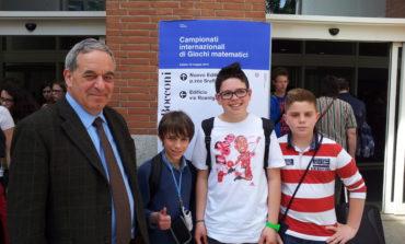 Tre studenti corcianesi alla Bocconi per i giochi internazionali di matematica