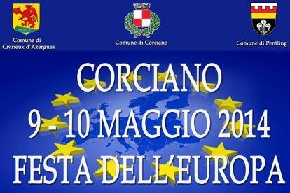 Festa dell'Europa, a Corciano il comune e i suoi gemelli riaffermano la sinergia