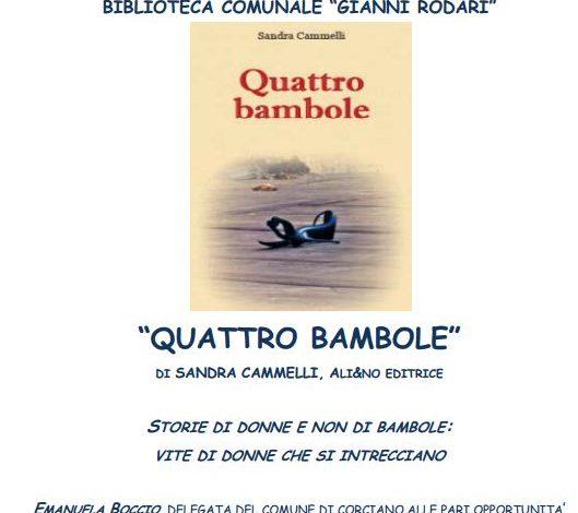 """""""Quattro bambole"""" alla Bibliteca Rodari"""