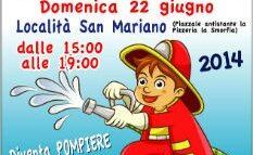 Pompieropoli, domenica a Corciano i bambini diventano vigili del fuoco per un giorno