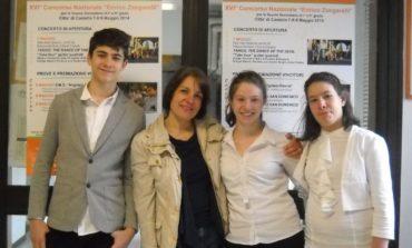 Gli studenti della Bonfigli eccellono al concorso musicale nazionale Zangarelli