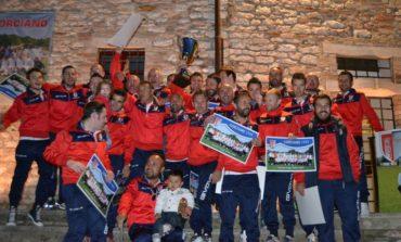 Il Corciano 99 conquista la Coppa Umbria, in piazza esplode la festa