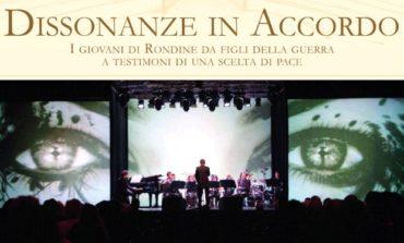 Dissonanze in Accordo al Teatro Cucinelli, venerdì lo spettacolo di Rondine Cittadella della Pace