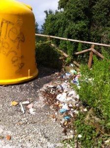 belvedere rifiuti trinità corciano-centro cronaca glocal
