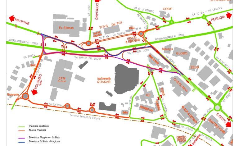 mappa viabilità cronaca ellera-chiugiana