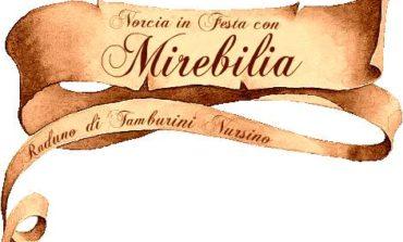 """I Tamburi di Coragino a Norcia per """"Mirebilia"""""""