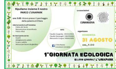 Domenica 1° Giornata Ecologica ad Ellera