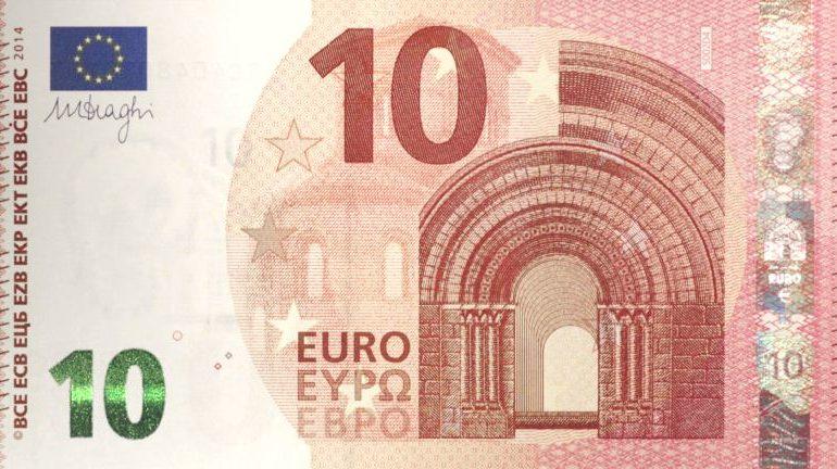 Arriva la nuova banconota da 10€, al lavoro sui disagi con le casse automatiche