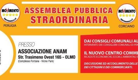 assemblea m5s quasar corciano-centro ellera-chiugiana politica
