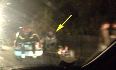 Carambola sul raccordo Perugia-Bettole, uomo incastrato nell'auto ribaltata