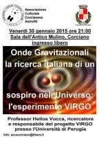 Onde Gravitazionali: il Prof. Helios Vocca spiega l'esperimento VIRGO