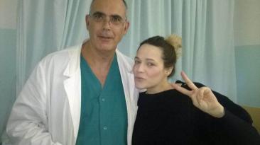 laura chiatti marco bocci parto sanità glocal san-mariano