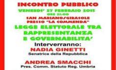 Il PD organizza un incontro pubblico sulla legge elettorale