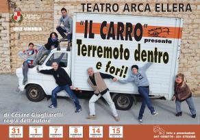 """Il """"Terremoto"""" è in scena al teatro Arca di Ellera"""