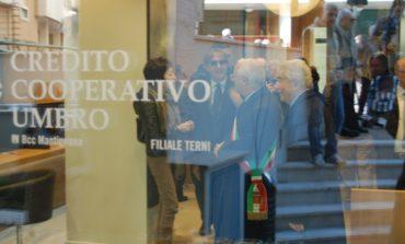 """Il Credito Cooperativo Umbro apre a Terni, Marinelli: """"Ci penso da venti anni"""""""
