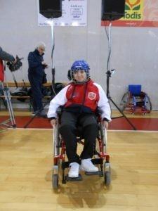 carrozzina pallamano scuola sport sport