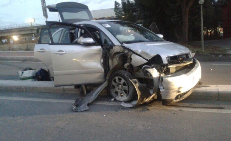 audi incidente polizia municipale cronaca ellera-chiugiana