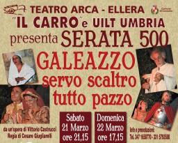 """Il Carro chiude la stagione al Teatro Arca con """"Galeazzo servo scaltro tutto pazzo"""""""