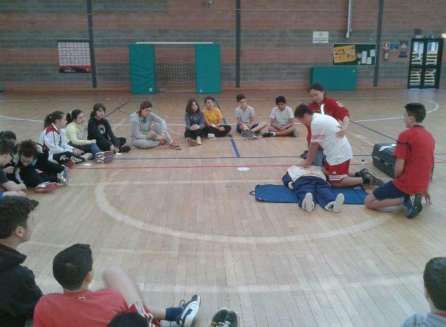 Lezioni di primo soccorso nelle scuole corcianesi