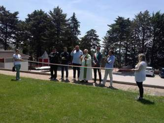 Ex Colonia, inaugurato il nuovo parco affidato all'APD di Corciano