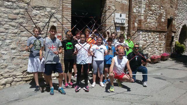 Ultimo giorno di scuola per la Bonfigli all'insegna dello sport con Nordic e Orienteering