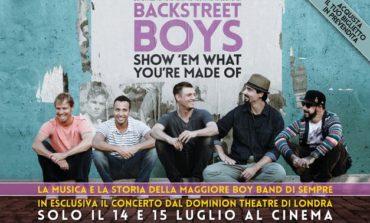 I Backstreet Boys allo Space Cinema con il film-concerto sulla loro storia, solo oggi e domani