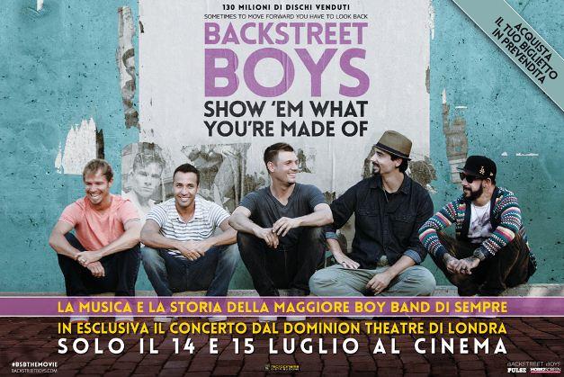 backstreet boys boyband musica space cinema ellera-chiugiana