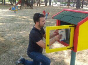 Corciano città della lettura, inaugurati due nuovi punti di book-crossing