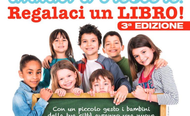 """""""Aiutaci a crescere, regalaci un libro!"""" dal 1° al 31 agosto regala un libro alle scuole della tua città"""