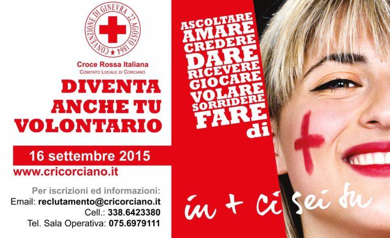 La CRI Corciano recluta nuovi volontari il 16 settembre inizia il corso