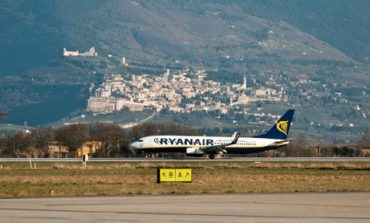 San Francesco da record: all'aeroporto dell'Umbria 44mila passeggeri in agosto