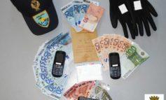 Cocaina nel freno a mano, 34enne senza precedenti arrestato nei pressi del Quasar